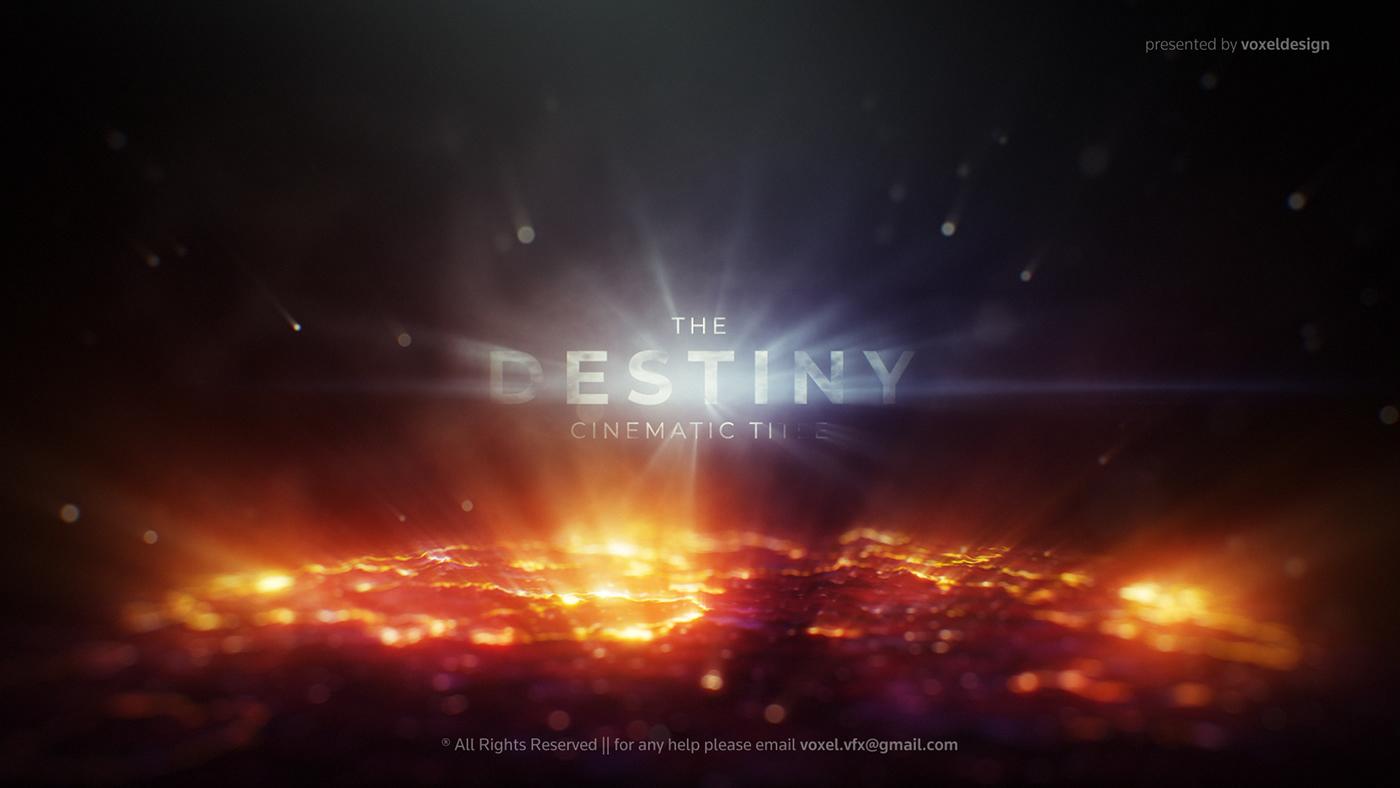 The Destiny Cinematic Title - 1