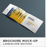 Landscape Brochure Mock-Up