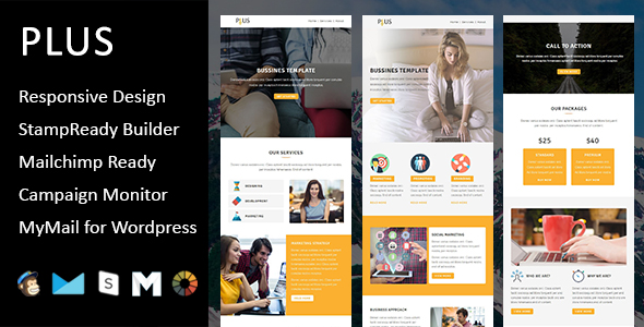 Primy - Multipurpose Responsive Email Template with Stampready Builder Access - 4