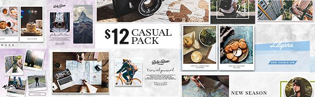 Casual Pack - 10