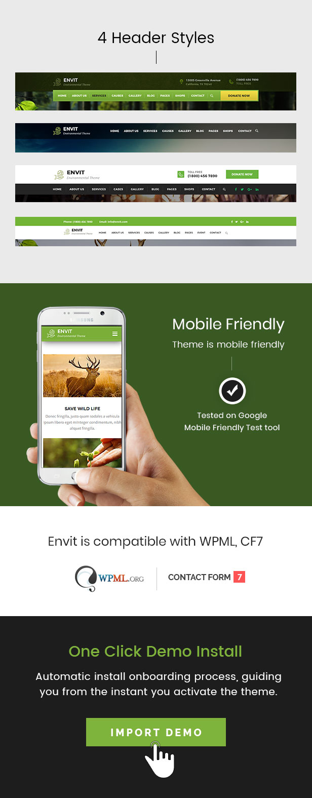 Envit – An Environmental WordPress theme - 2