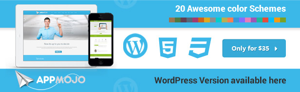 App Mojo - Single Page Software Promotion HTML - 3