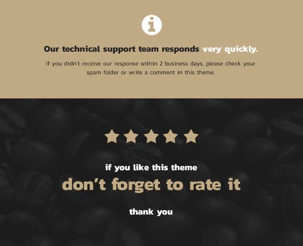 Coffee King - Coffee Shop, Coffee House and Online Store WordPress Theme - 4