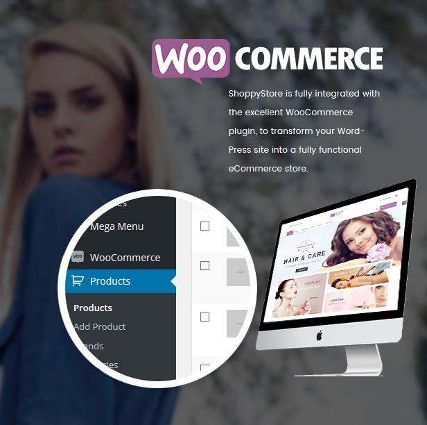 响应技术WooCommerce WordPress主题 - Woocommerce