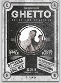 Ghetoo Flyer Template
