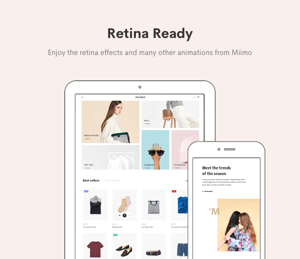 Minimal WooCommerce Shop WordPress Theme - Retina Ready