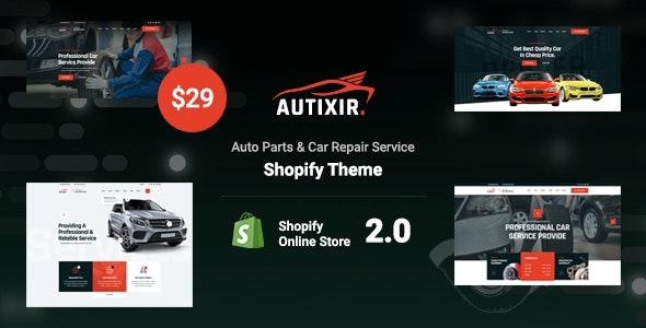 Autixir - Auto Parts & Car Repair Service Shopify Theme