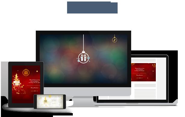 Christmas Card Magic Lights - 1