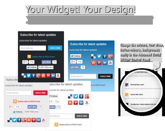 Your widget! Your design