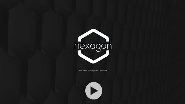 Modern Hexagon Powerpoint Template By Haicamon Graphicriver