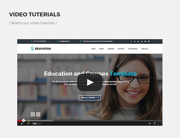 Education - Responsive Education, Courses Template - 11
