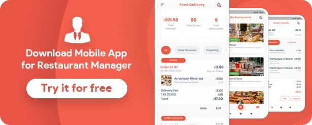 Food Delivery Flutter   PHP Laravel Admin Panel - 17