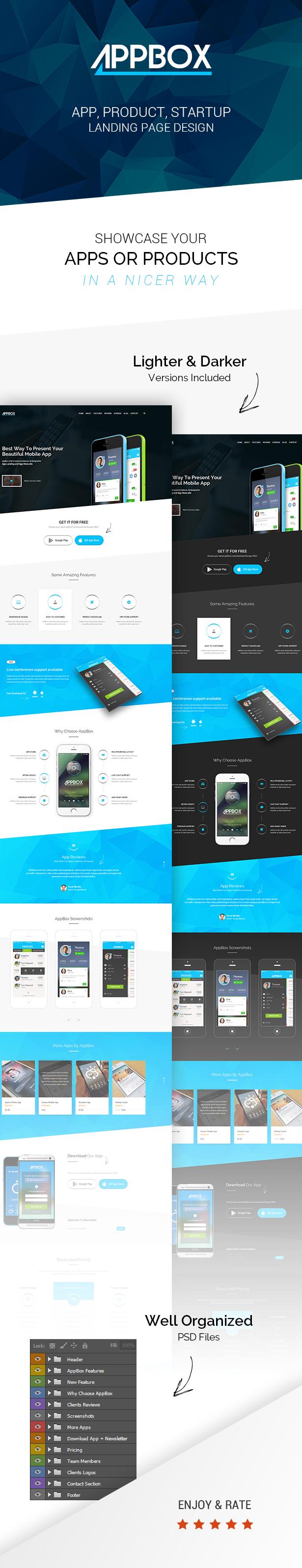 AppBox - App Landing & Shop HTML  - 2