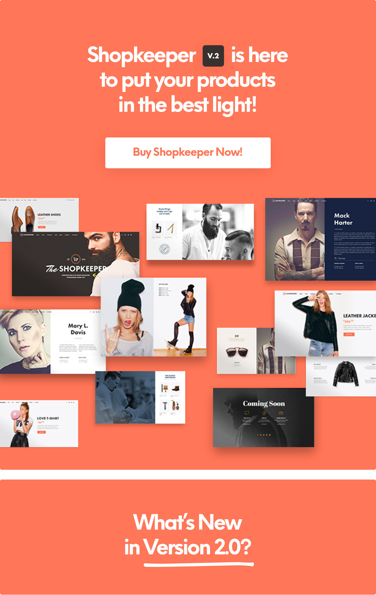 Shopkeeper - eCommerce WP Theme for WooCommerce - 8