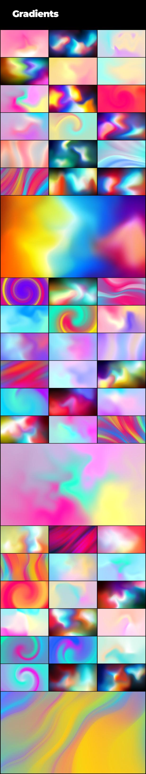 Набор фоновых рисунков - 4