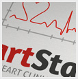 Heart Stats Medical Logo Template