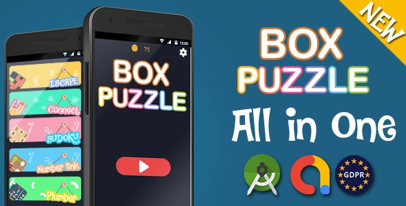 Mega Bundle 5 Games - Android studoi + admob - CodeCanyon Item for Sale