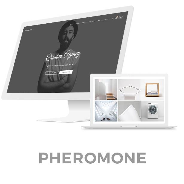 Pheromone - Responsive Multi-Concept Template - 2