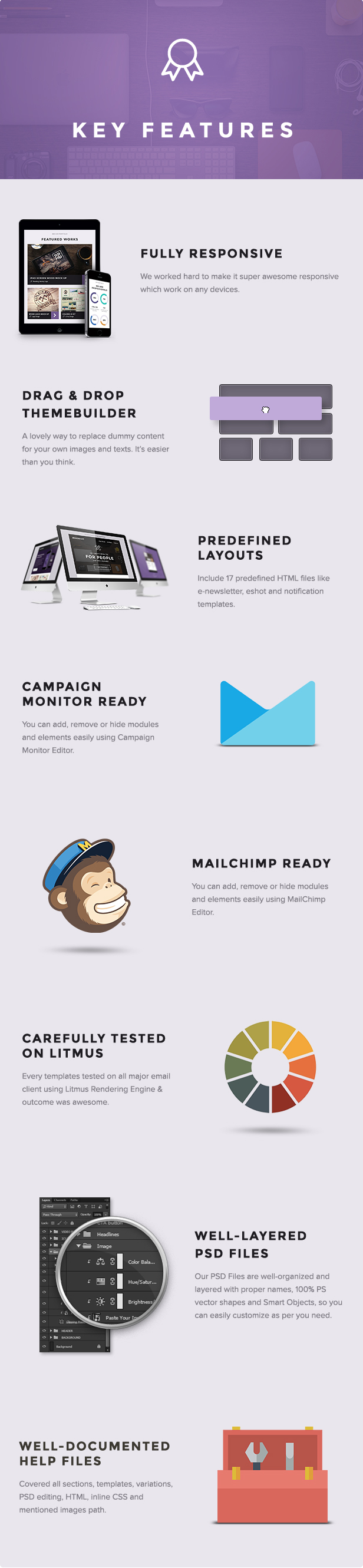 Imaginary - Multipurpose Email Template + Builder Access - 8