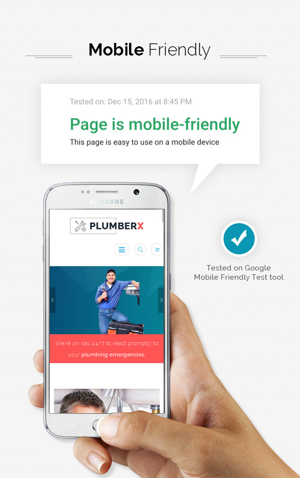 plumber wordpress