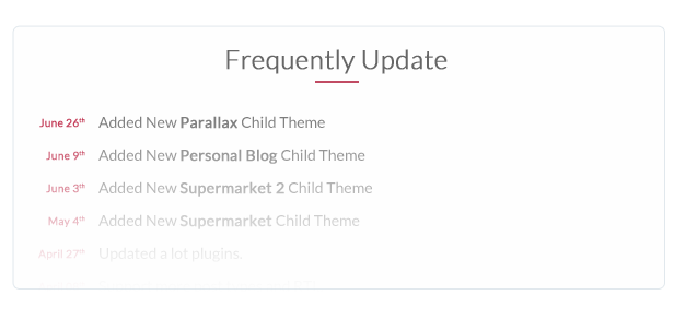 Frequently Update