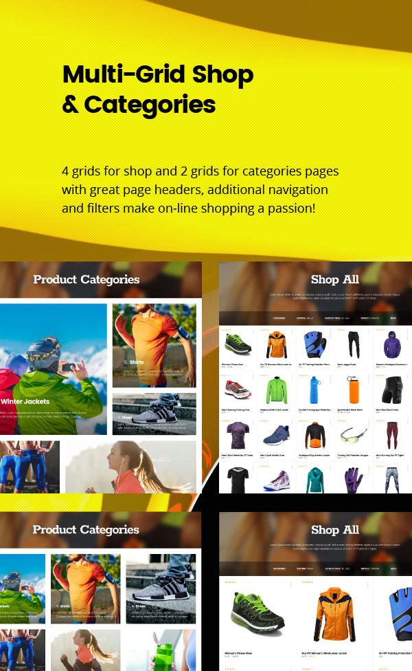 joli-sport - Shop Page
