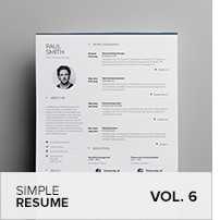 Clean Resume Vol. 5 - 26