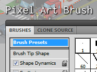 48 Pixel-Perfect Photoshop Brushes