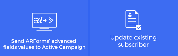 Advanced Activecampaign integration with ARForms - 1