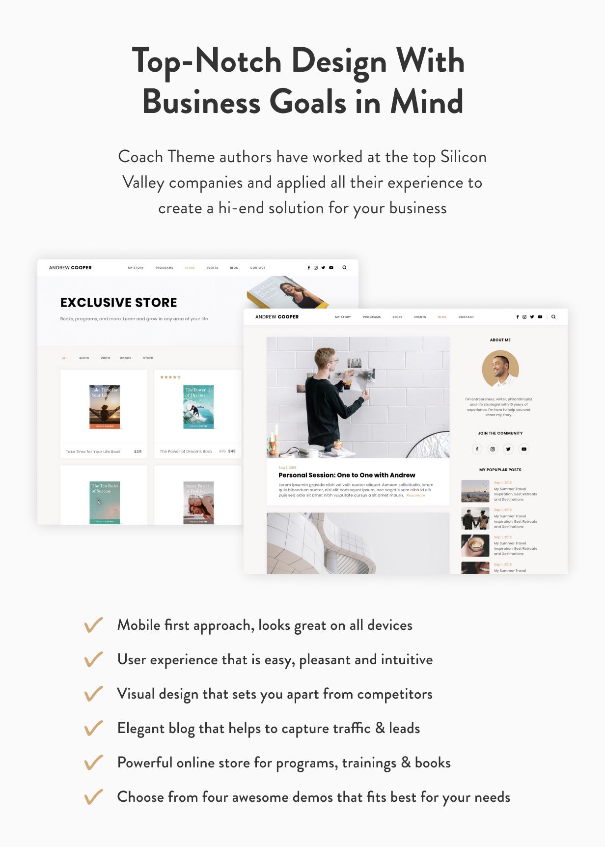 Leadership — Coach WordPress Theme - 7