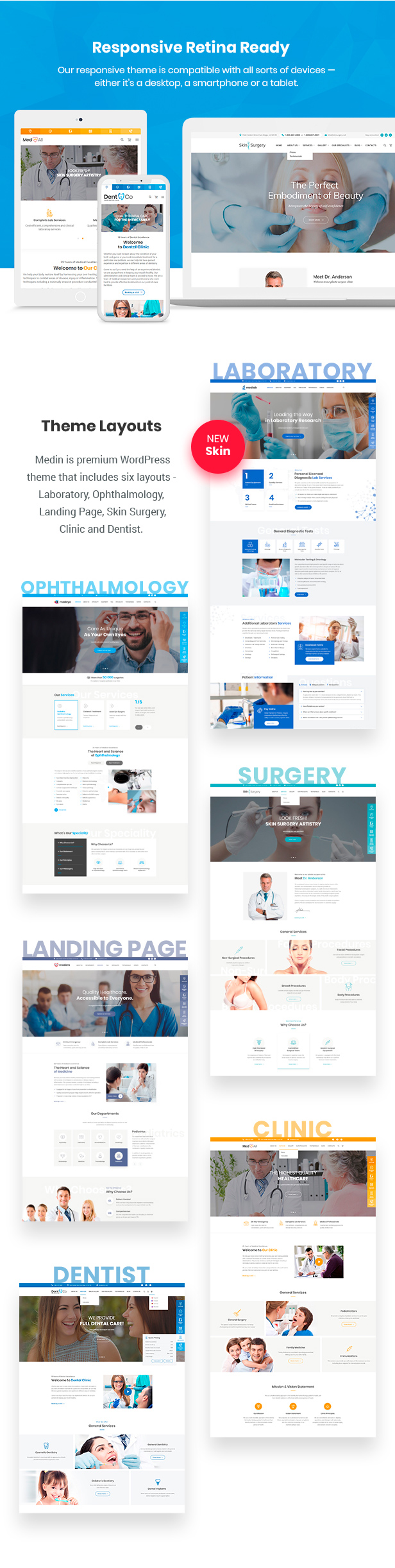 Medin - Medical Center WordPress Theme - 5