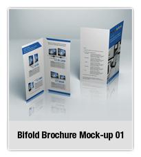 Bifold Brochure Mock-up 02 - 3