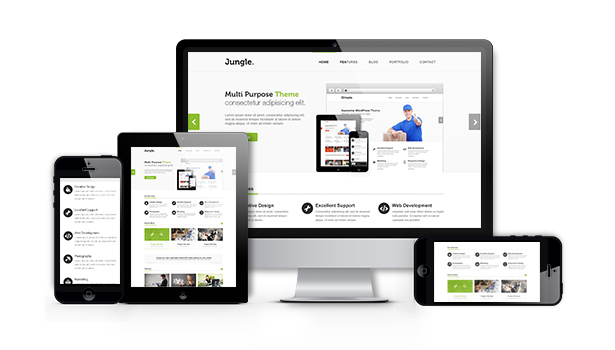 Jungle - Responsive Multi-Purpose WordPress Theme - 6