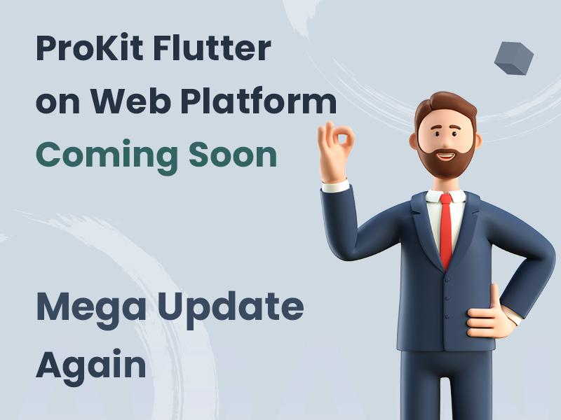 Prokit - Biggest Flutter 2.0 UI Kit - 2