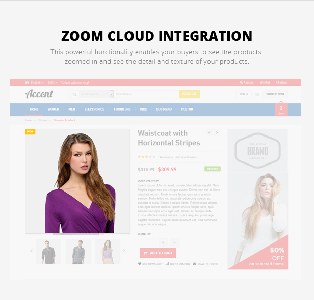 gift store magento template