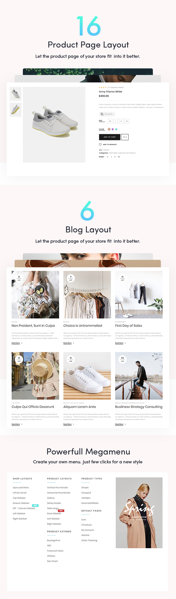 Eveland – Modern AJAX enabled WooCommerce theme (RTL Supported) 64