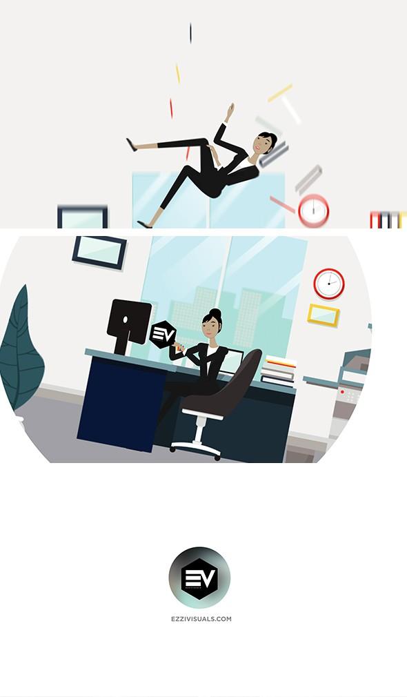 Character Business Logo reveal v.1 - 1