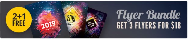 New Year Flyer Bundle Vol.13