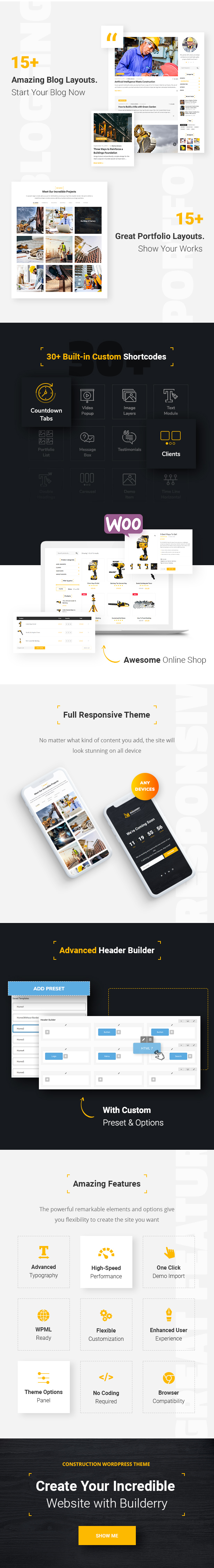 Builderry - Construction and Building WordPress Theme - 2