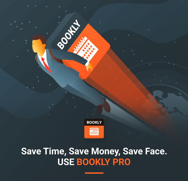 Bookly PRO – Appointment Booking and Scheduling Software System - 4