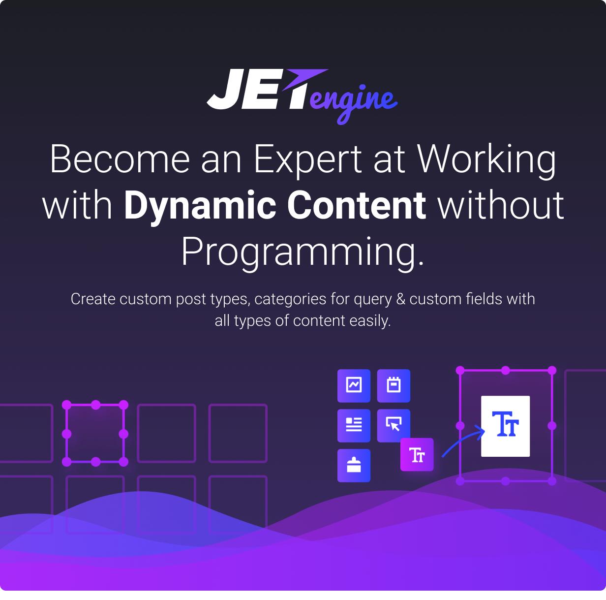 JetEngine  -  Elementorによる動的コンテンツの追加と編集 -  1