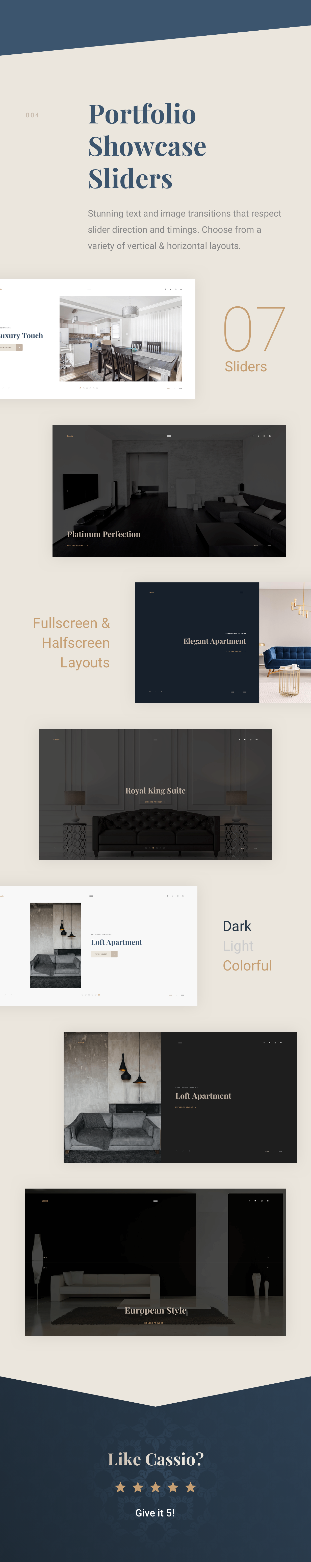 Cassio – Architect Portfolio AJAX HTML5 Template - 9