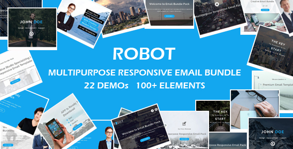 Tima - Multipurpose Email Notifications & Newsletter Templates - 1
