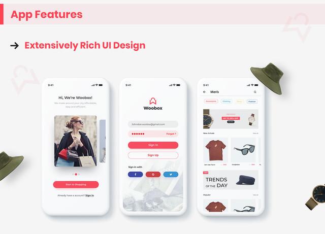 WooBox - WooCommerce Android App  E-commerce Full Mobile App + kotlin - 5
