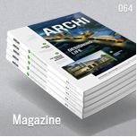 Mock-Up for Brochure / Catalog / Magazine - Photorealistic - A4 - 5