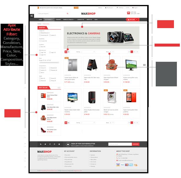 Maxshop - Listing Page