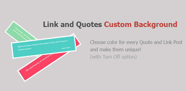 Custom Background