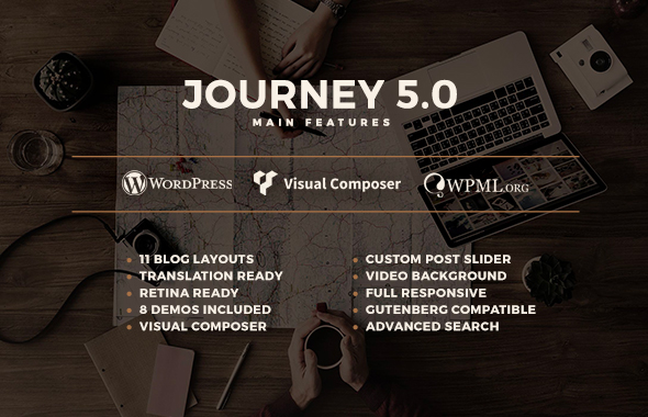 Journey - Personal WordPress Blog Theme - 1