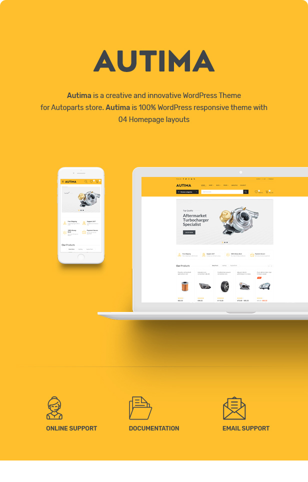 Autima - Car Accessories Theme for WooCommerce WordPress 22