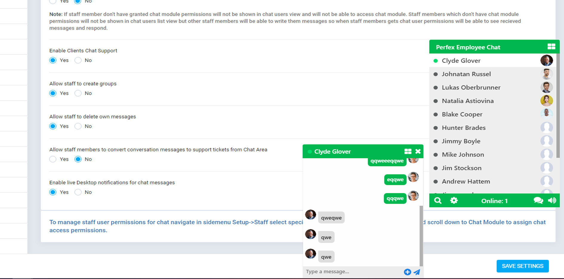 Perfex CRM Chat - 14